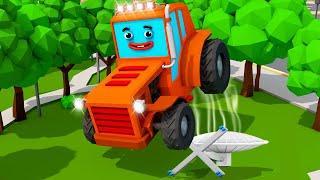 Трактор ТОМ и СУПЕР ПОГОНЯ - Мультфильмы для детей - Мультики про машинки