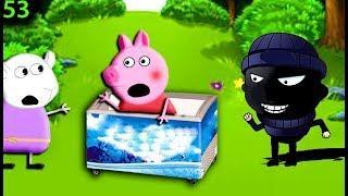 Мультики свинка пеппа новые серии на русском мультик 53  ЛОВУШКА Мультфильмы для детей