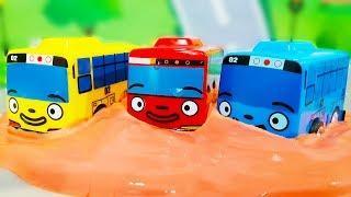 Мультик про машинки. Тайо маленький автобус - изучаем цвета. Мультфильмы