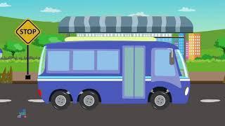 Автобус Формирование Аэропорта   Airport Bus Formation   Umi Uzi Russia   Русский Мультфильмы