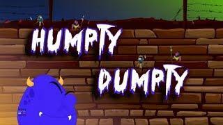 Шалтай-Болтай | русский мультфильмы для детей | рифма | Humpty Dumpty | Booya Russia