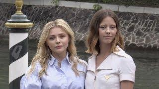 Chloe Grace Moretz and Mia Goth in Venice for the Film Festival 2018