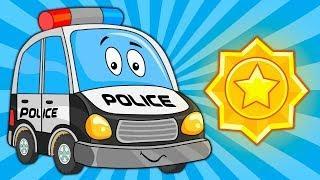 Мультик про машинки – Полицейская Машина - Развивающие Мультфильмы для Детей