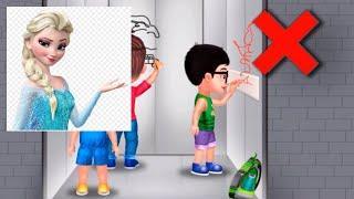 БЕЗОПАСНОСТЬ ДЕТЕЙ В Лифте Как Правильно Вести Себя В Лифте Познавательное Видео Для Детей HD 2018