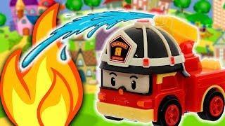 Мультики для детей – Хочу быть пожарником! Мультфильмы про машинки Робокар Поли для малышей
