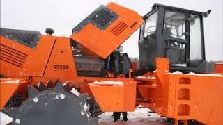 Завод «Дорожных машин» запустил в производство уплотнитель ТКО UM 25 «Бурлак»