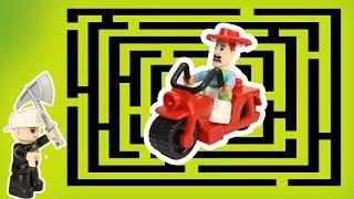 ЗАПЕРТЫЙ В ЛАБИРИНТЕ! Мультики с игрушками для детей. Новые мультфильмы 2018.