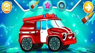 Мультики про Машинки Мойка Развивающие Мультфильмы Игры для Детей Играем Вместе