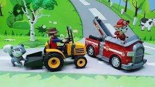Игрушечные мультики для детей - Спасение котенка! Развивающие мультфильмы 2018 для самых маленьких
