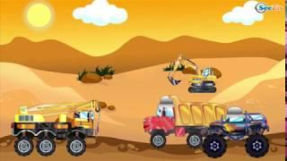 Смотреть мультики для детей развивающие Мультфильмы Про машинки Полицейская машина Скорая помощь