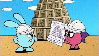 Ух ты, Лахта! Все серии - сборник | Смешарики Пин-код. Обучающие мультфильмы