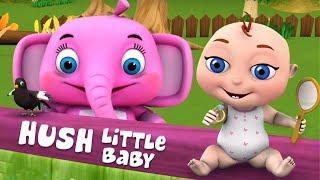 Тише маленький ребенок | Hush Little Baby | Little Treehouse Russia | русский мультфильмы для детей