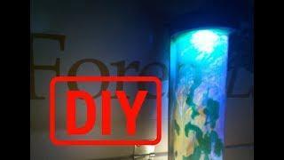 Woodturning.  Как сделать лампу ценою почти 1000 евро из эпоксидной смолы))ЭКСПЕРИМЕНТ!