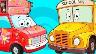 Мультик для Детей Про Большие Машины – Развивающие и Обучающие Мультфильмы Про Машинки Сборник 2018