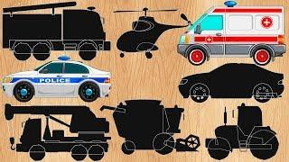 Мультики про #машинки Полицейская машинка. Скорая помощь и другие машинки. Мультик пазл Новые видео