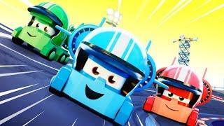 Truck Games - OFFICIAL LIVE - Мультфильмы с грузовиками для детей