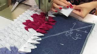 Tapete decorado de biquinhos -door mat --ковер, как сделать-alfombra