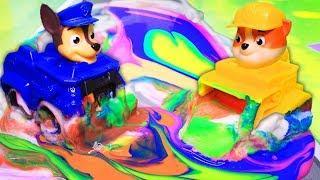 Мультфильмы для детей. Новый цвет! Щенячий патруль на русском игрушки – Про машинки