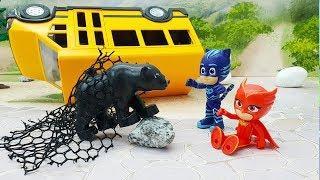 Мультики для детей про животных - Мама! Игрушечные мультфильмы с машинками