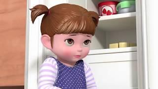 Битва за мороженое    Консуни мультик серия 1   Мультфильмы для девочек   Kids Videos