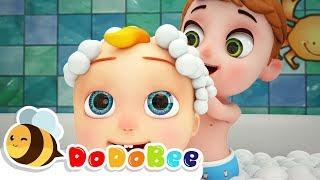 банная песня - мультфильмы для детей #CoCoMelon #LittleAngel #Babyshark #nurseryrhymes