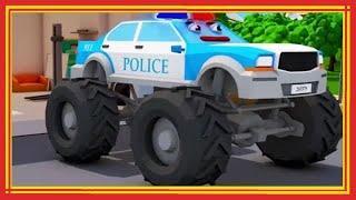 Мультики про машинки - Полицейские машинки и ГОНКИ! Новые Мультфильмы 2018