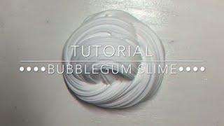 Как сделать баблгам слайм?Переведённый рецепт