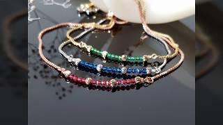 Как сделать браслет своими руками. Мастер-класс.  Handmade bracelet