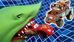 Мультик про машинки Молния Маквин, Мэтр и Акула. Мультфильмы про #МАШИНКИ для детей новые серии.