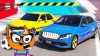 Веселые #Машинки гонки Кота Барбоса ! ГТА 5 мультики для мальчиков. Мультфильмы про машинки 2019