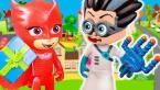 Герои в масках мультфильмы с игрушками - Ромео похитил подарки у Героев! Игрушки для детей