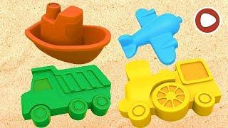 Машинки в песочнице LIVE