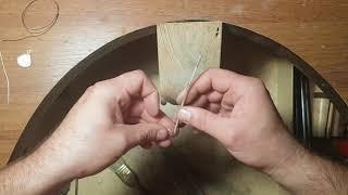 Как сделать серебряную подвеску ,кулон с перламутром из обычной ракушки!