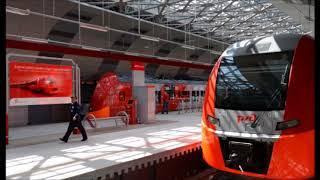 Курсирующие между Киевским вокзалом и аэропортом Внуково аэроэкспрессы стали двухэтажными