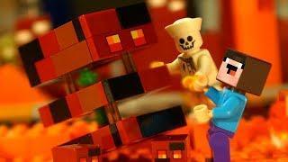 БОРЬКА или НУБик ? Лего Майнкрафт Мультфильмы - LEGO Minecraft Animation и Мультики