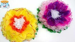 Как Сделать Своими Руками Потрясающие Цветы из Бумаги
