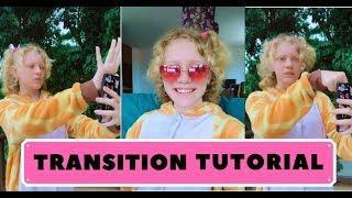 Transition tutorial for Tik tok & Kwai. Как сделать транзишн