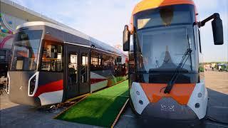 Ростех продемонстрировал модели трамваев нового поколения