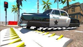 Мультики про машинки - Полицейские машины и украденный сейф. Лучший мультфильм 2018 для мальчиков
