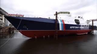 Пограничные сторожевые катера спущенны на воду в 2018 году