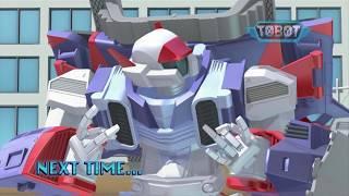 Тоботы - Сезон 3 Серия 18 Мультфильм про машинки трансформеры Новые серии 2018