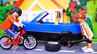 Игрушки для детей. Про машинки видео! Поучительные мультфильмы с игрушками Playmobil