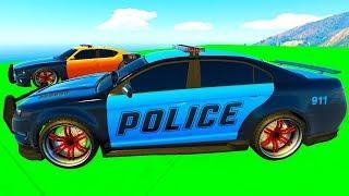 Мультики про машинки Цветные Машинки и Полицейская машина для малышей Мультфильмы для детей