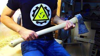 Как сделать топор своими руками / реставрация советского топора