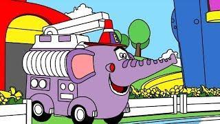 Мультики про машинки - Раскраска с Врумиз - Сборник 13 - Развивающие мультфильмы для детей