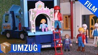 Playmobil Film deutsch - Umzug von Hannah - Mega Chaos -  Playmogeschichten Familie Fröhlich