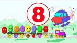 Учим цифры для самых маленьких! Учимся считать до 10. Развивающие мультфильмы для детей