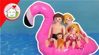 Playmobil Film deutsch - Flamingo am Badesee - Geschichte von Familie Hauser für Kinder
