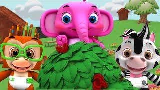 тутовый куст | детские стишки | мультфильмы для детей | The Mulberry Bush | Little Treehouse