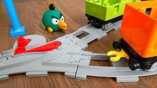 Поезда Мультики про Машинки Игрушки - Город машинок 292 серия Стыковка Мультфильмы Лего для детей